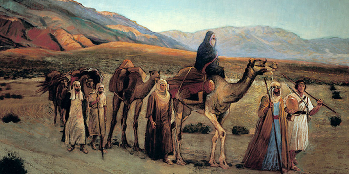 Lehi Traveling Near the Red Sea, by Gary Smith