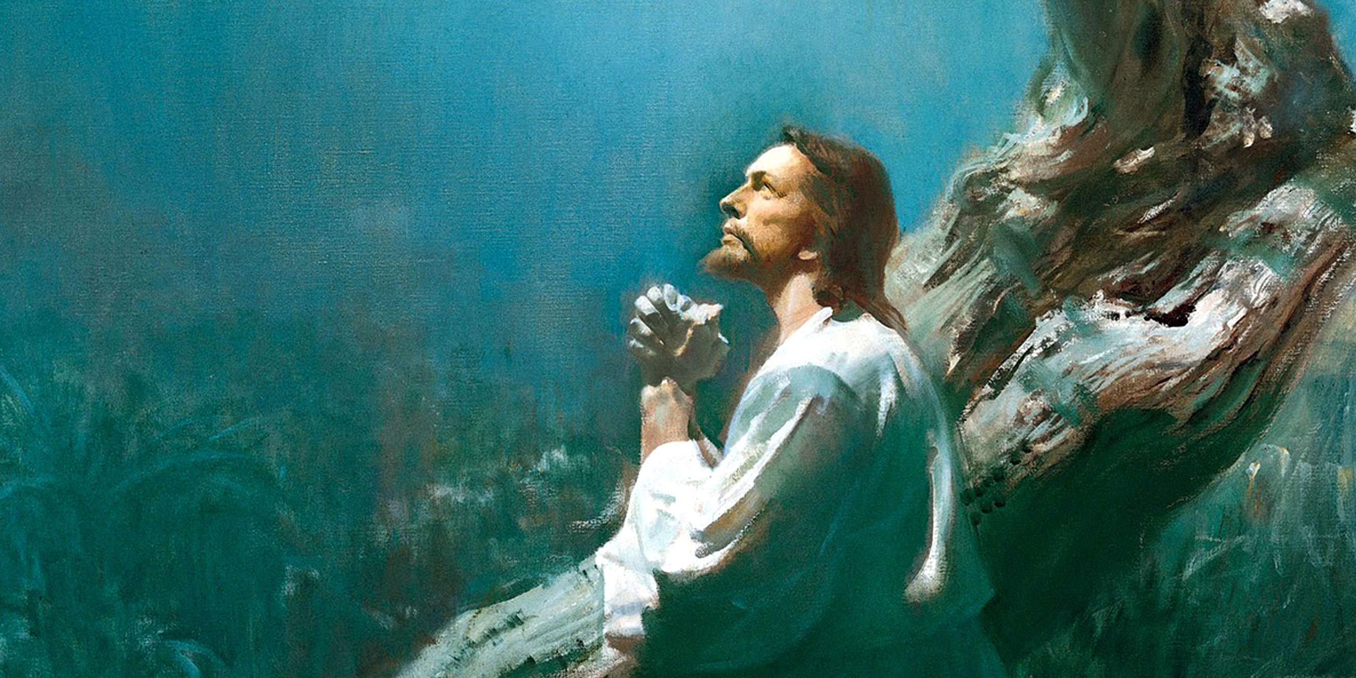Christ in Gethsemane by Harry Anderson