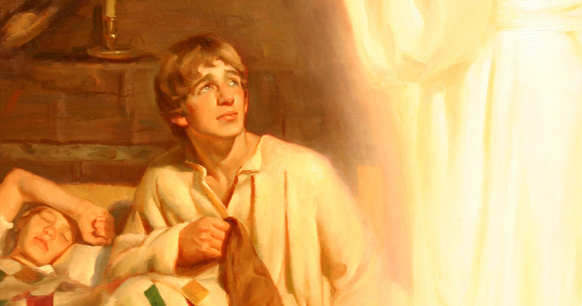 He Called Me by Name, by Michael Malm. Image via Church of Jesus Christ.