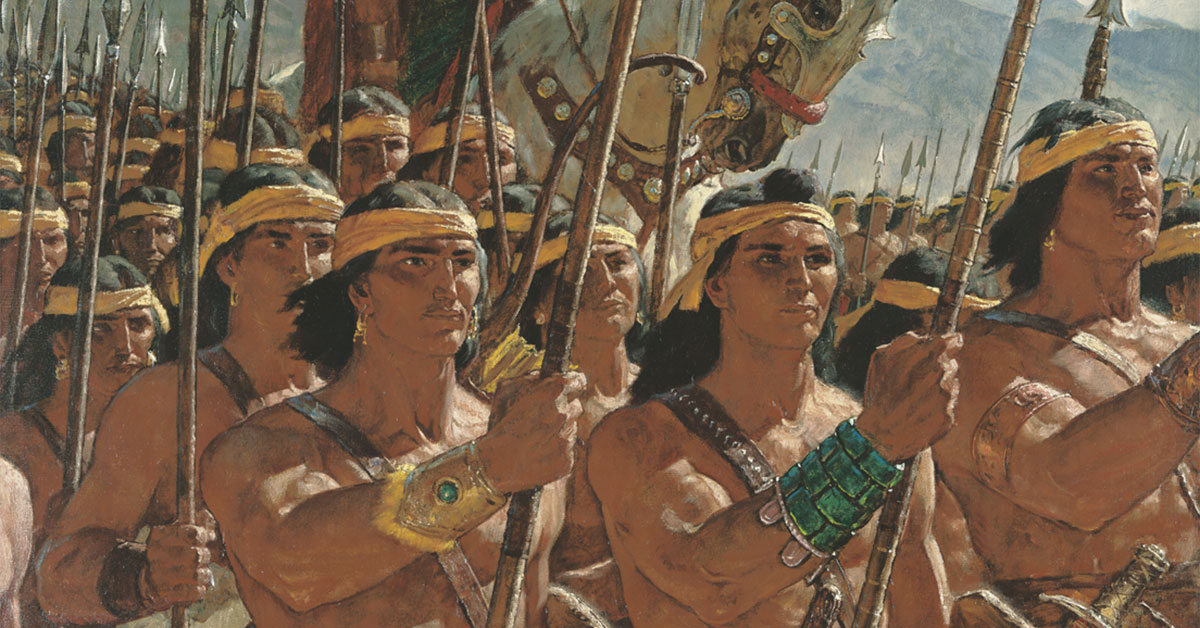 Two Thousand Young Warriors, by Arnold Friberg. Image via ChurchofJesusChrist.org