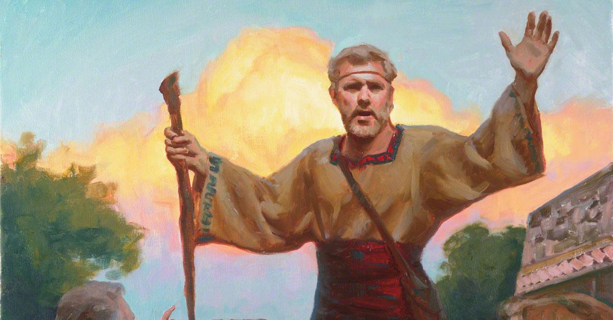 Teaching True Doctrine, by Michael T. Malm. Image via ChurchofJesusChrist.org