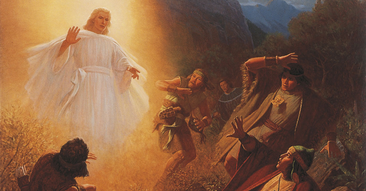 Conversion of Alma the Younger, by Gary L. Kapp. Image via ChurchofJesusChrist.org