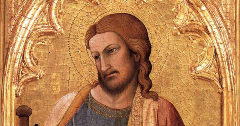 Apostle James the Greater by Antonio Veneziano, ca. 1384. Image via Wikimedia Commons.