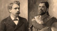 """BH Roberts photo about 1904 and """"Helaman"""" by James Fullmer"""