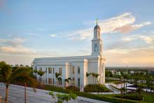 The Fortaleza Brazil Temple of the Church of Jesus Christ of Latter-day Saints. Image via Church News.