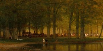 The Camp Meeting, by Worthington Whittredge. Image via Church of Jesus Christ.