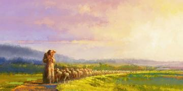 Going Home, by Yongsung Kim. Image via Church of Jesus Christ.
