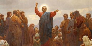 Sermon on the Mount by Henrik Olrik via Wikimedia Commons