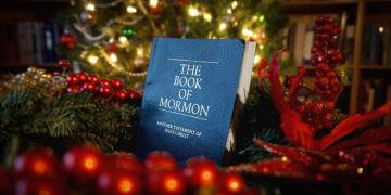Book of Mormon at Christmas. Image by Book of Mormon Central