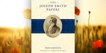 The cover of the Joseph Smith Papers Documents Volume 12.